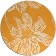 rug #510149 | round light-orange rug