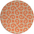 rug #513517 | round traditional rug
