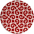 rug #513561   round red rug