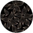 rug #516853 | round black rug