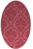 rug #517992   oval damask rug