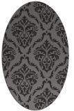 rug #518048   oval damask rug
