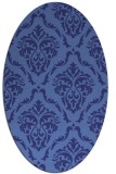 rug #518179 | oval traditional rug
