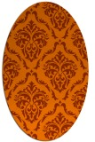 rug #518216 | oval traditional rug