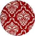 rug #518841   round red rug