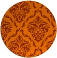 rug #518920   round traditional rug