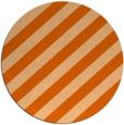 rug #522381 | round red-orange rug