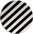 rug #522393 | round black rug