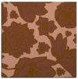 rug #528249   square mid-brown rug