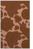 rug #528953 |  brown rug