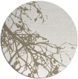 rug #530921 | round white rug