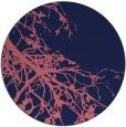 rug #531013 | round blue-violet rug