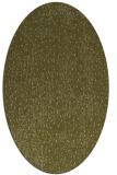 rug #535829 | oval light-green rug
