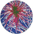 rug #546808 | round abstract rug