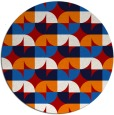 rug #552281   round red rug