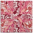 rug #561765 | square pink rug