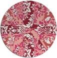 rug #562821   round pink rug