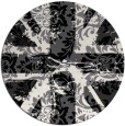 rug #562873 | round abstract rug