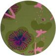 rug #566160 | round gradient rug