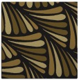 rug #572221   square mid-brown rug