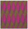 rug #586513 | square pink rug