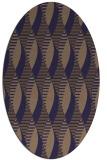rug #586647 | oval circles rug