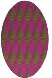 rug #586865 | oval light-green rug