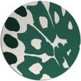 rug #592653   round green rug