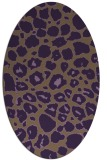 rug #595570   oval circles rug