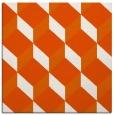 rug #597013 | square red-orange rug