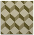 rug #597077 | square light-green rug