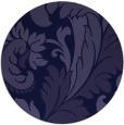 rug #601405 | round blue-violet rug
