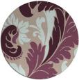 rug #601477 | round contemporary rug