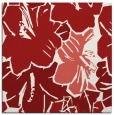 rug #602273 | square red rug