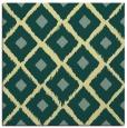 rug #612789   square yellow rug