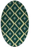 rug #613141 | oval flags rug