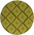 rug #613961 | round light-green rug