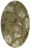 rug #620310 | oval graphic rug