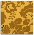 rug #628729 | square light-orange rug