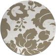 rug #629481 | round beige rug