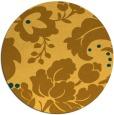 rug #629785   round light-orange rug