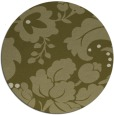 rug #629813 | round light-green rug