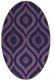 rug #632394 | oval natural rug