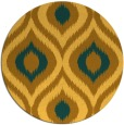 rug #633305   round light-orange rug