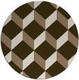 rug #636673   round beige rug