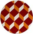 rug #636713 | round orange rug