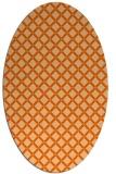 rug #637839   oval check rug