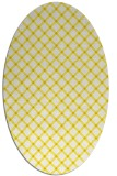 rug #637854 | oval check rug