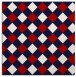 rug #639225 | square red rug