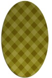 rug #639657 | oval light-green rug